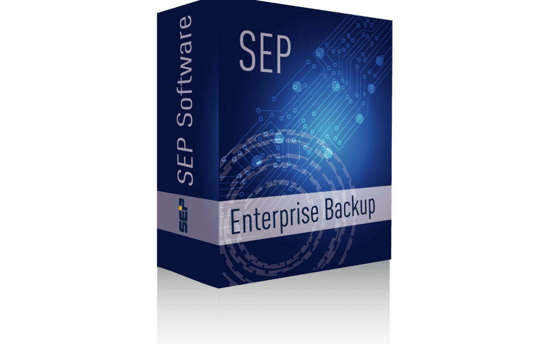 SEP SOFTWARE ANNOUNCES NEW RELEASE OF ENTERPRISE-WIDE BACKUP SOLUTION